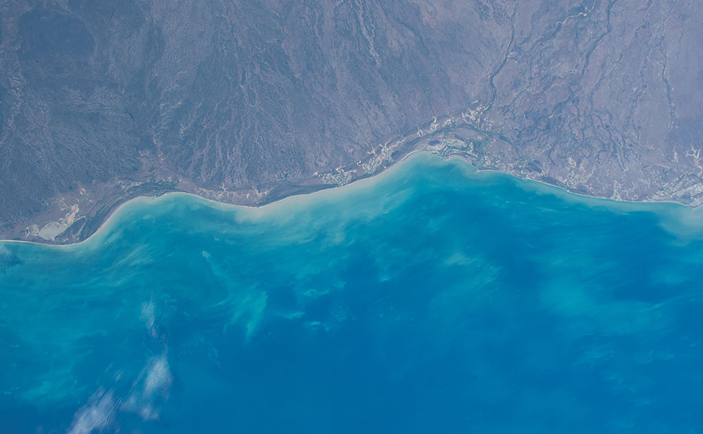 Littoral satellite view