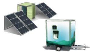 Solar Power Water Electrolysis Hydrogen