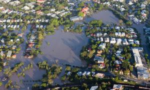 Zone inondée