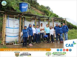 Système de filtration d'eau - Jerusalén - Colombie
