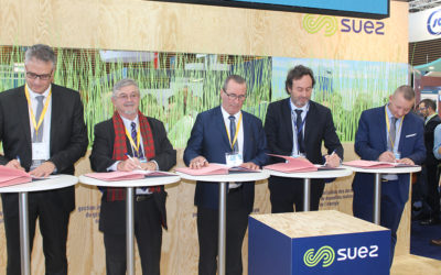 La Convention API pour l'agriculture périurbaine signée sur Pollutec 2018