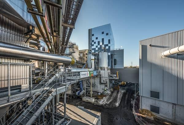 Nouvelle ligne de traitement thermique et de traitement des fumées sur l'Unité de Valorisation Energétique de Charleroi (Belgique)