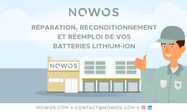 L'économie circulaire des batteries lithium-ion : Solution NOWOS pour une 2ème vie